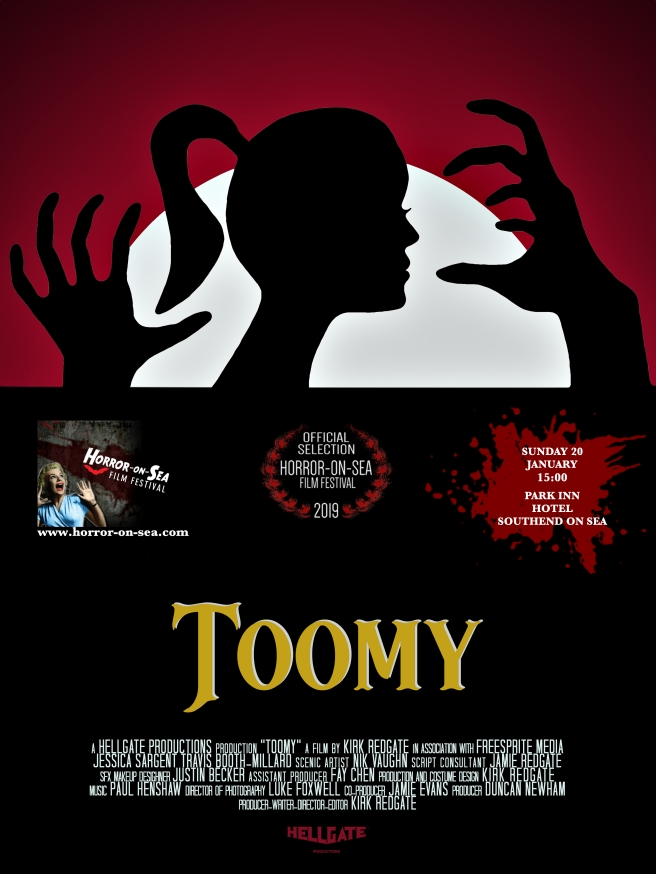 toomy poster advert 2